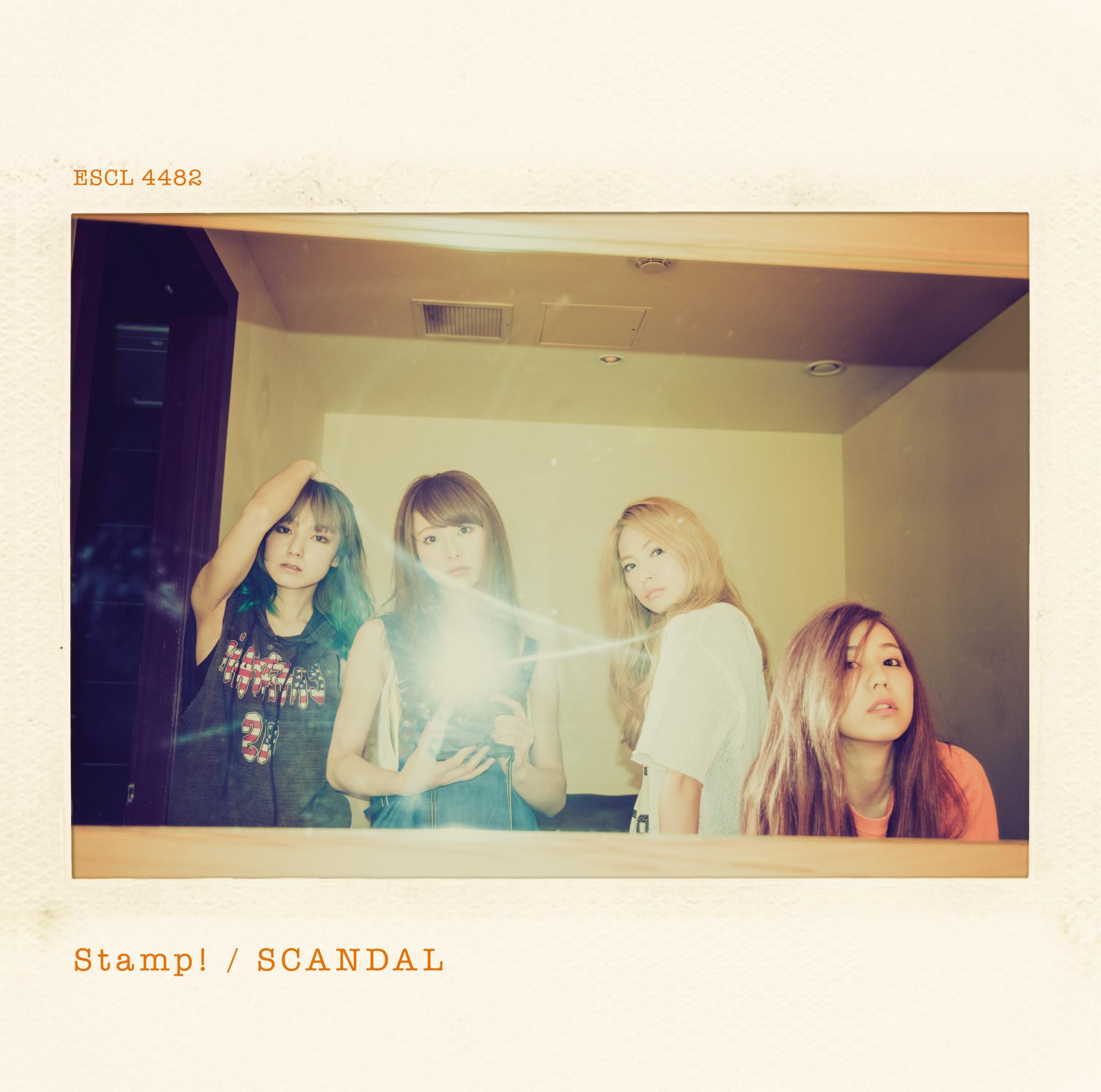 【7.22】SCANDAL Sg 「Stamp!」通常盤_JK写_l