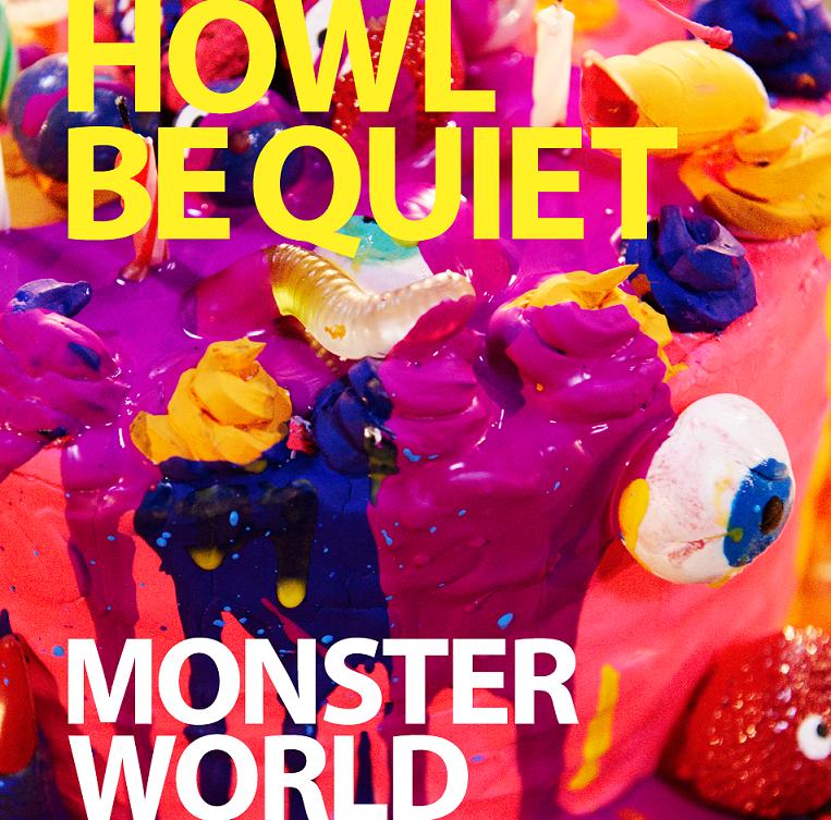 【ジャケ写小:通常】HOWL BE QUIET「MONSTER WORLD」ジャケ写(通)
