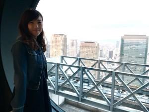 梶 真夕子 甲南女子大学2017年度卒業生