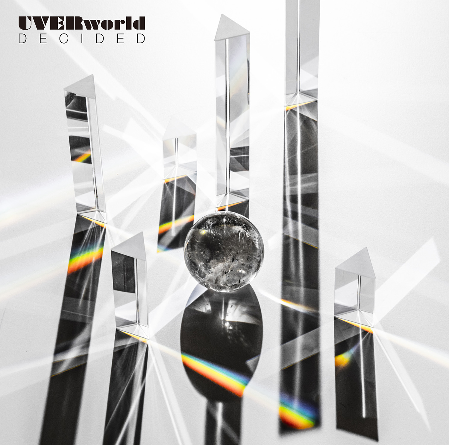 UVERworld「DECIDED」JK写(初回盤)